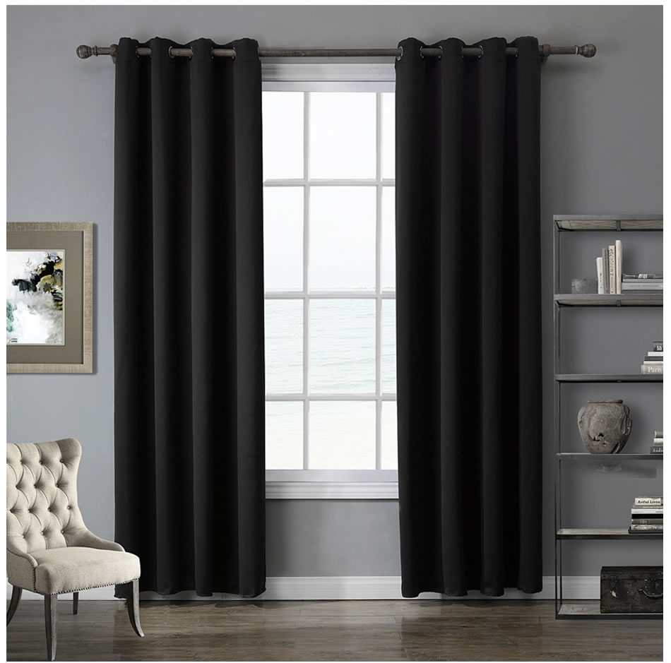 Modern Blackout Curtains for Windows