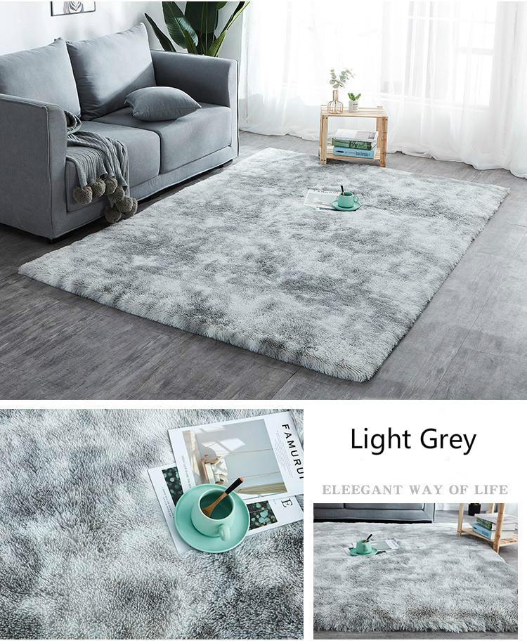 Marble Plush Floor Mat