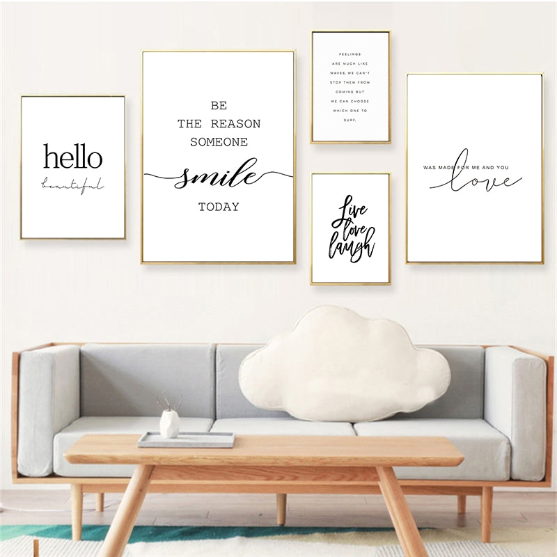 Modern Life Quotes Art Poster