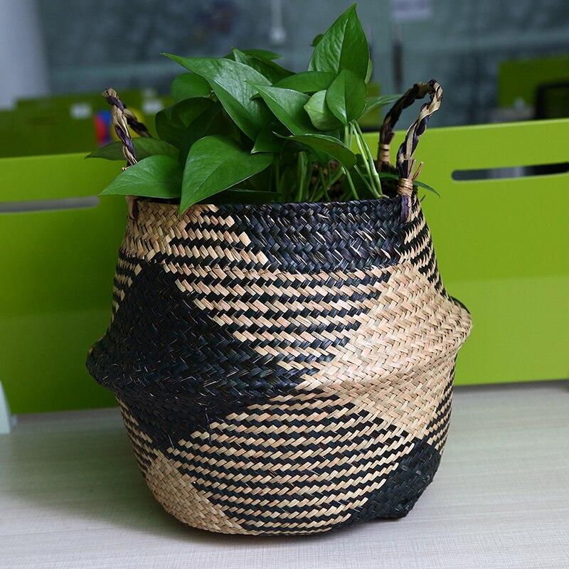 Natural Rattan Basket for Gardening