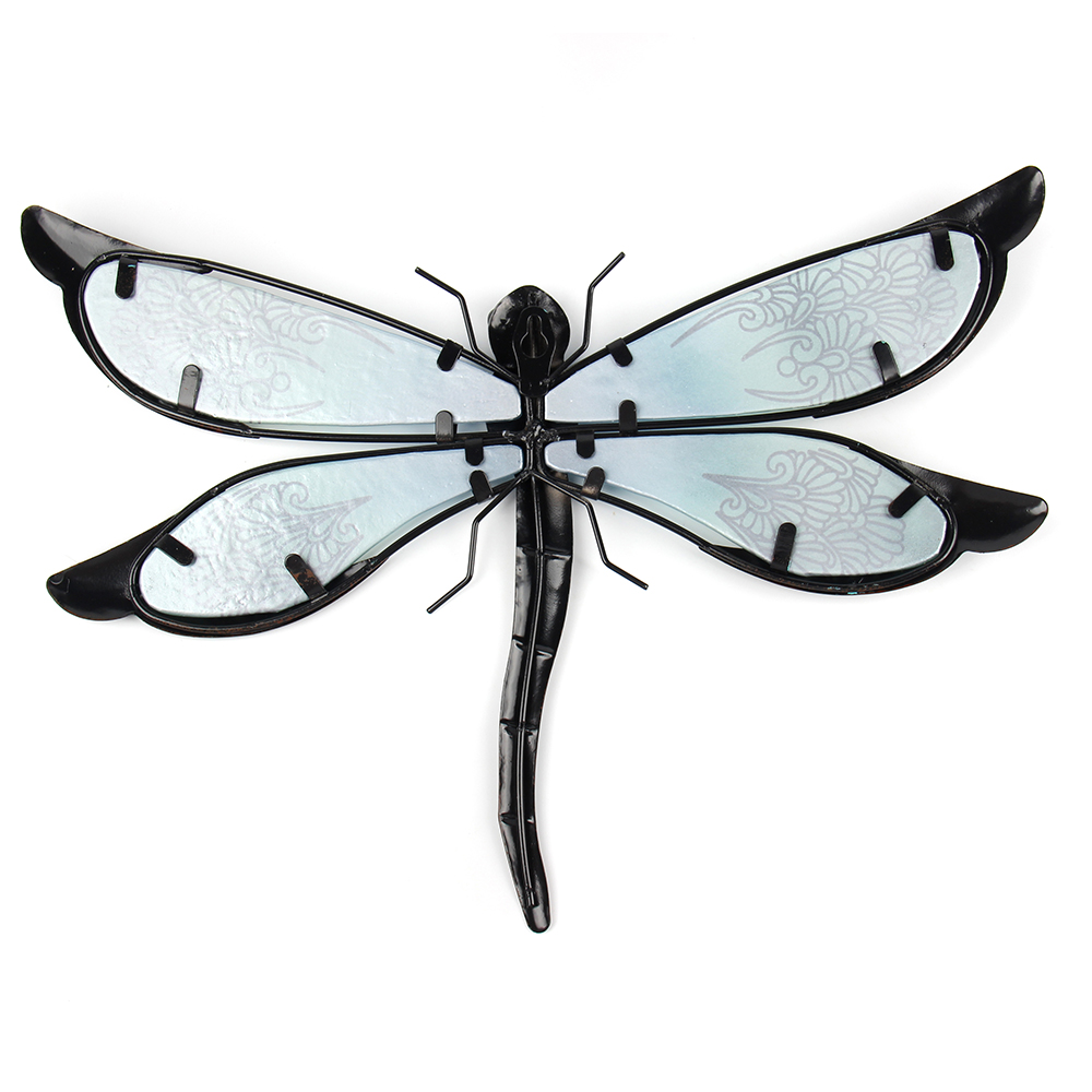 Metal Dragonfly Sculpture for Garden