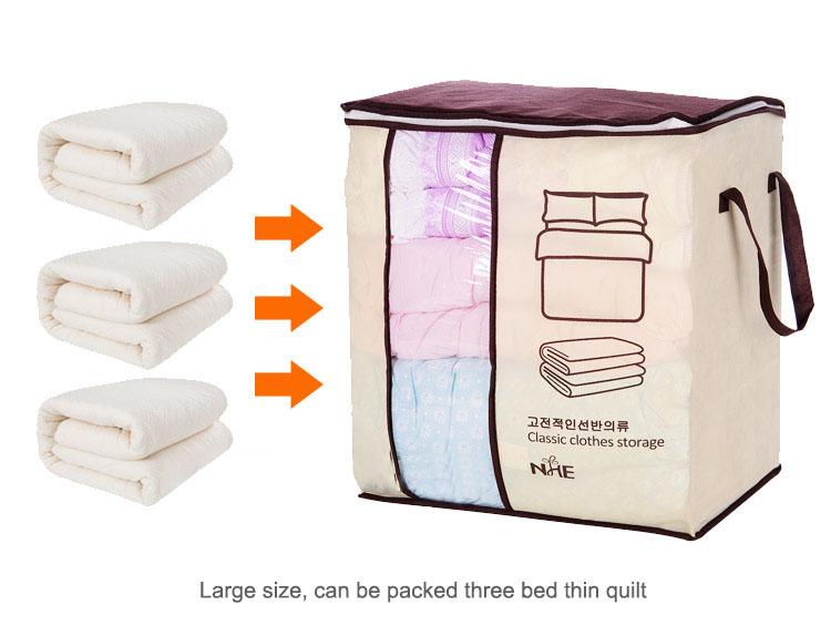 Portable Clothes Storage Bag