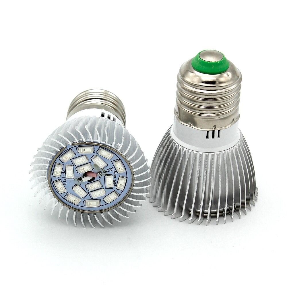 LED Grow Bulb Light for Flowering