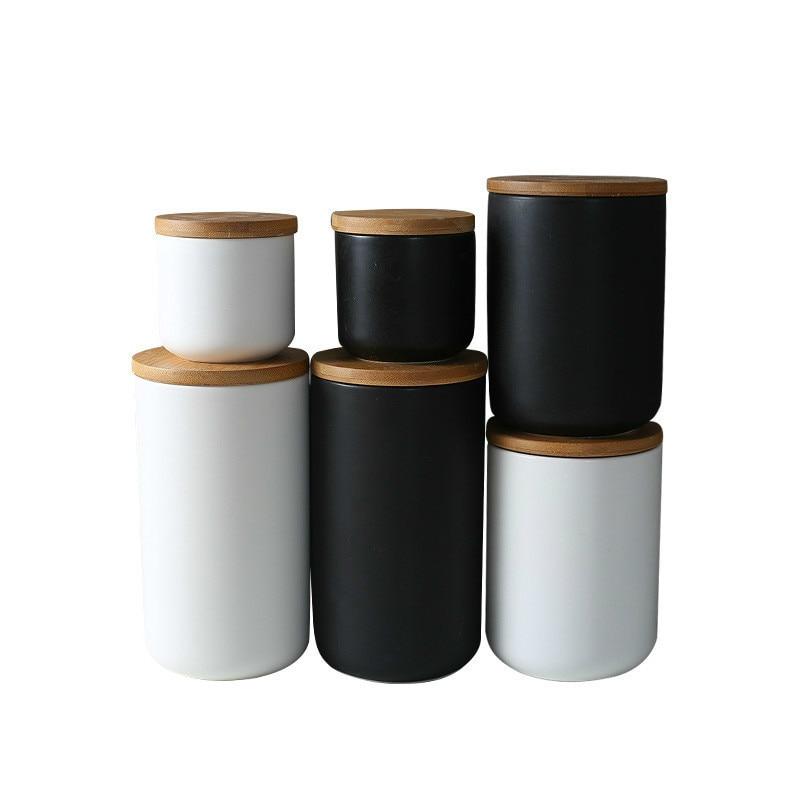 Ceramic Storage Jar with Lid