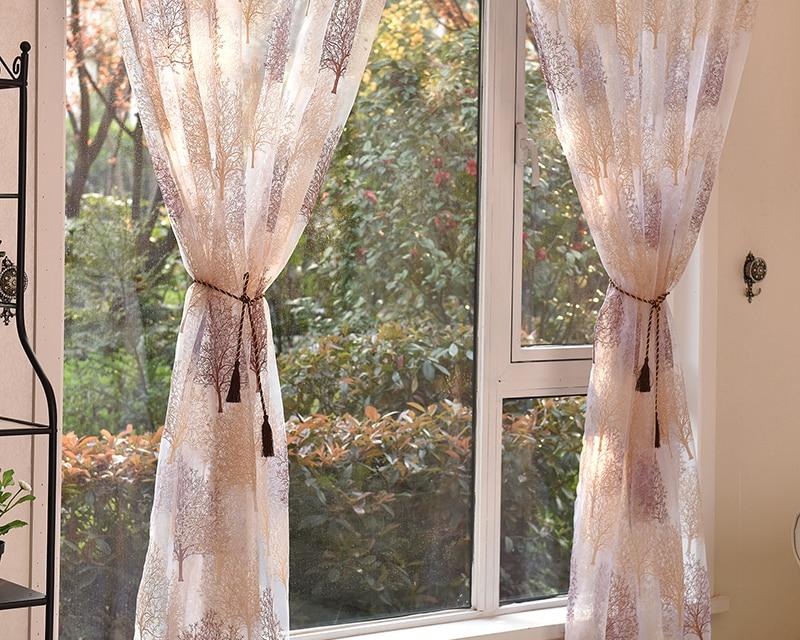 Japanese Style Tulle Curtain
