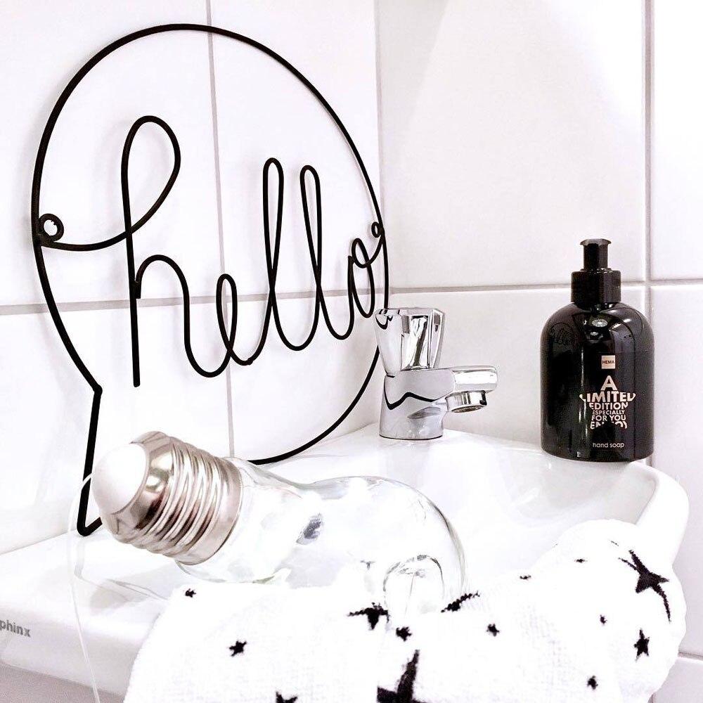 Letters Designed Hanging Decoration