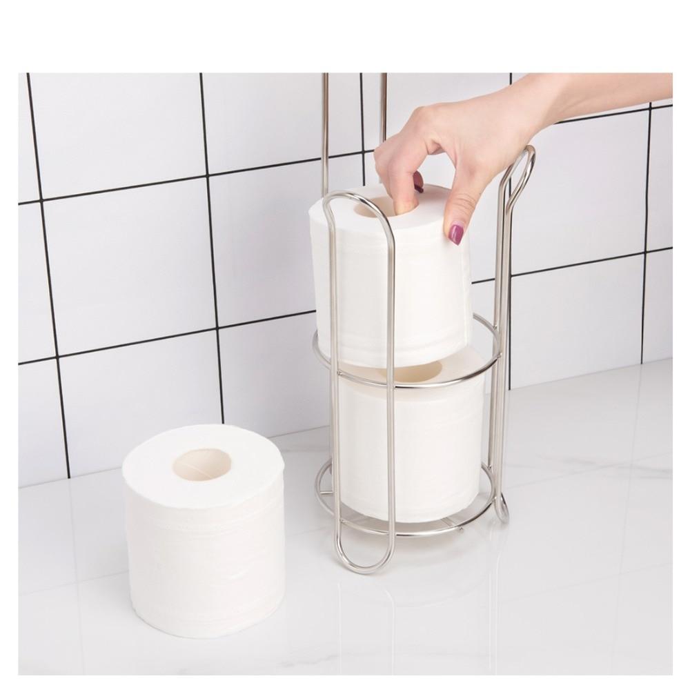 High Toilet Paper Roll Dispenser