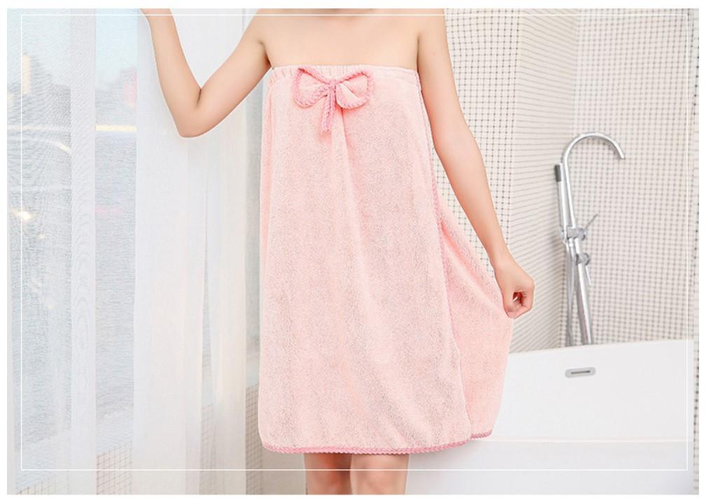 Women's Bath Towels and Hair Towel Set