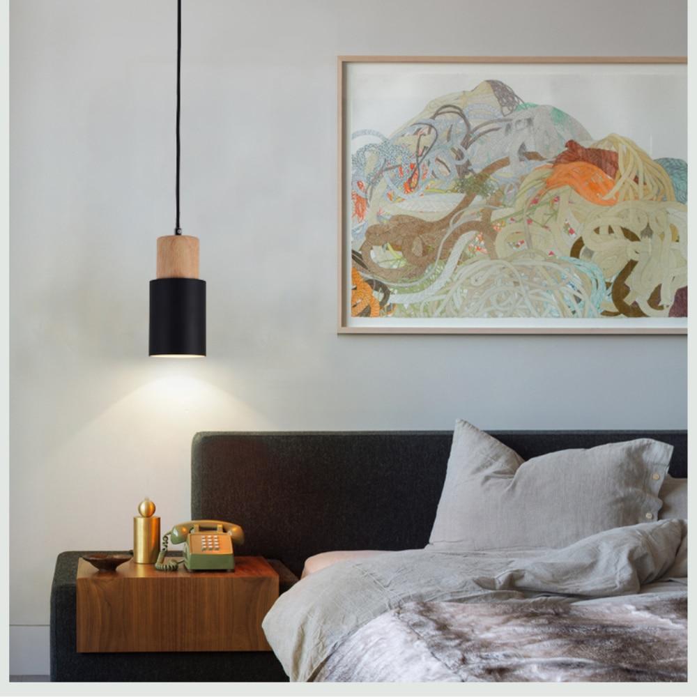 Modern Colored LED Pendant Light