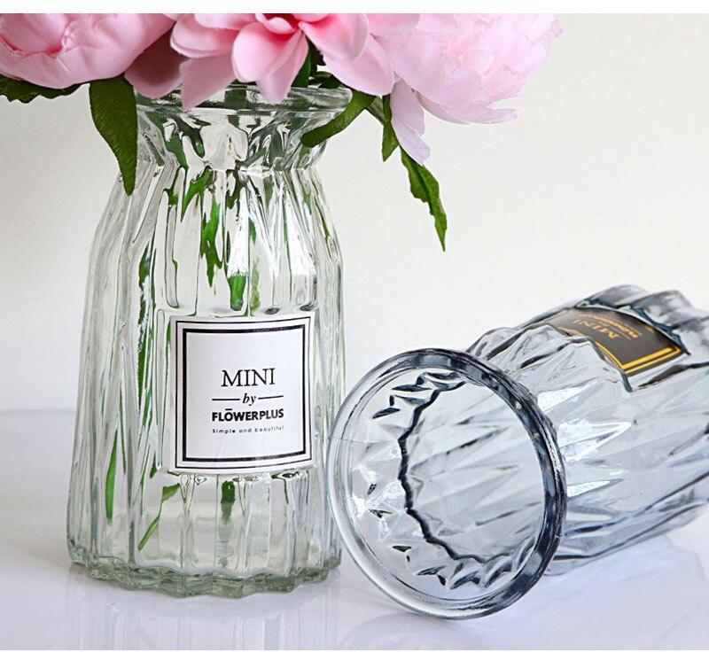 Home Tabletop Glass Vase