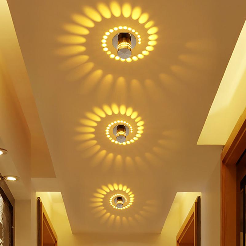 Colorful Aluminum Ceiling Light