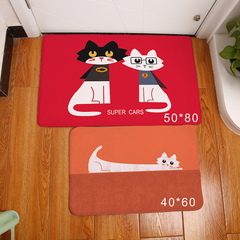 3D Retro Floor Mat