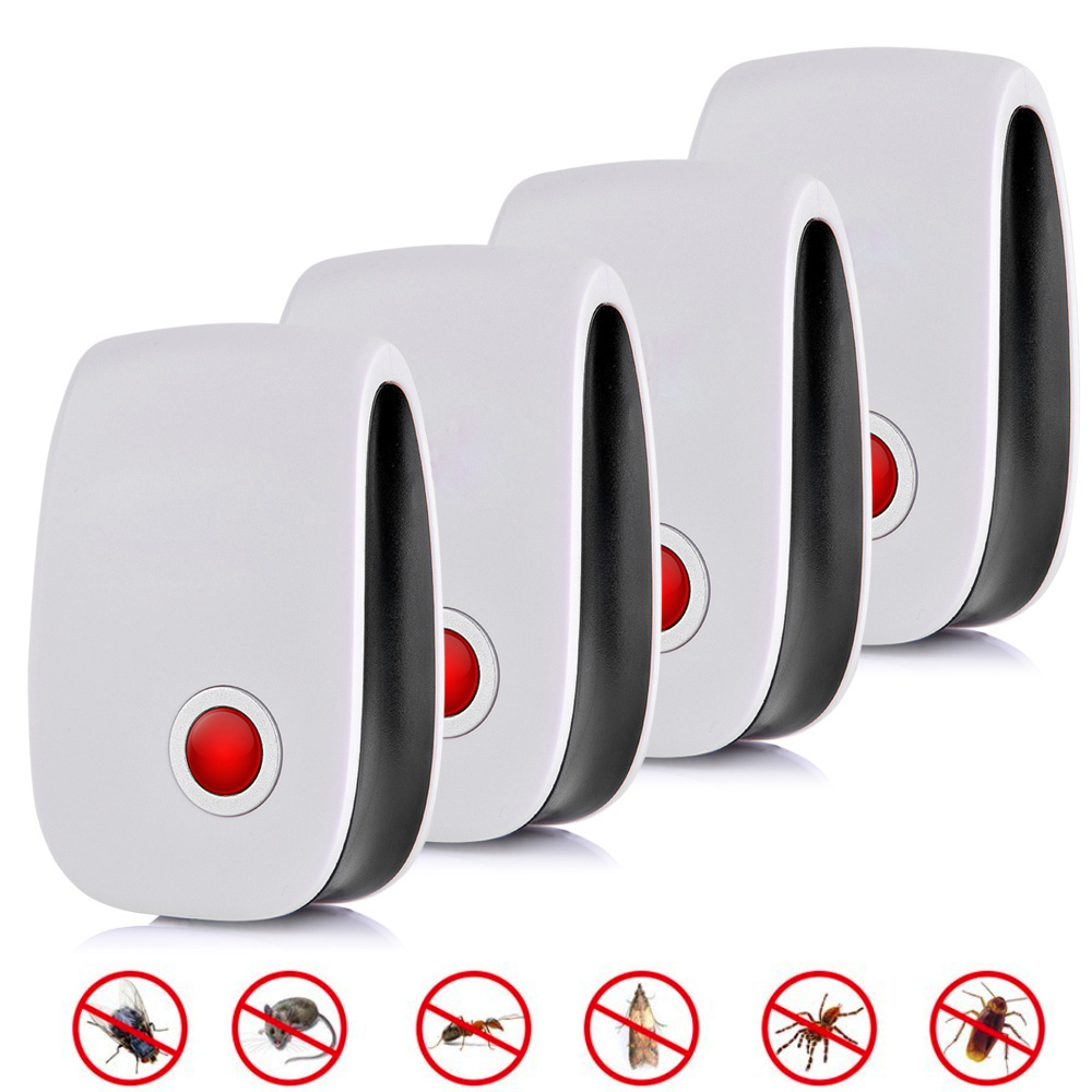 Set of Ultrasonic Pest Repellers