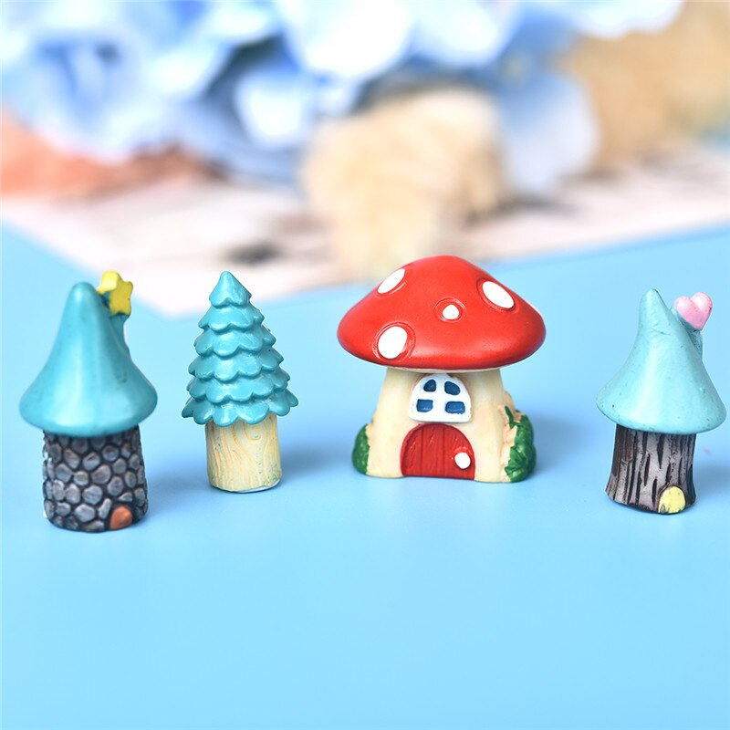 Cute Cartoon Red Mushroom House