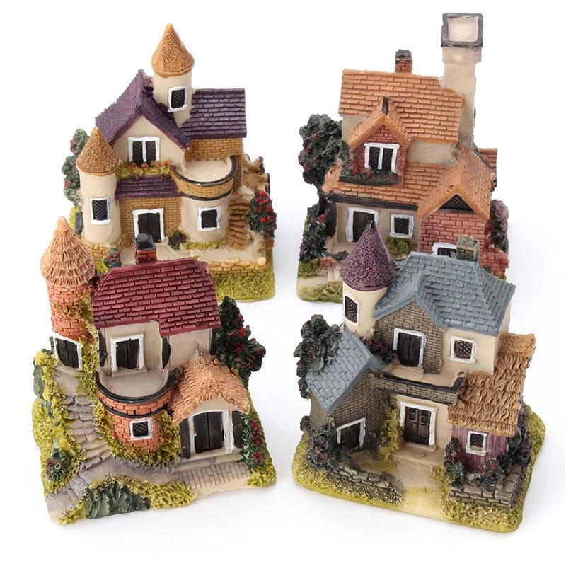 Mini Antique Resin House