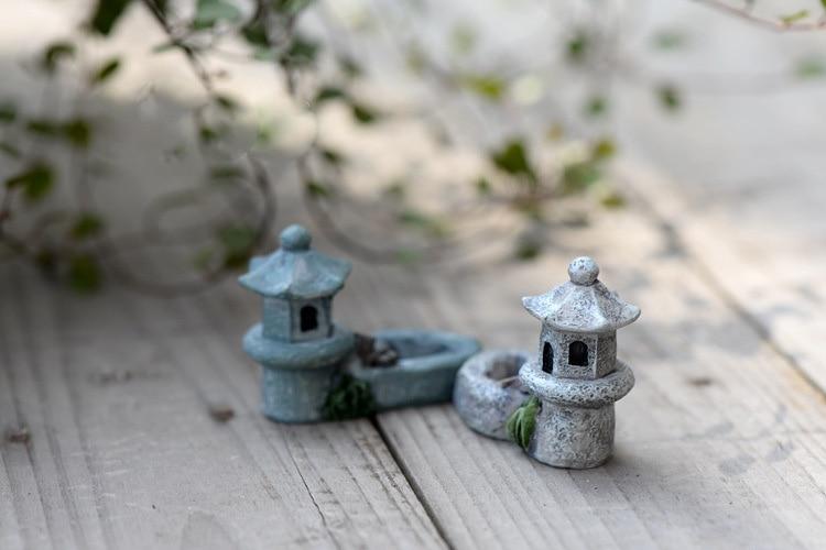 Mini Antique Stone Tower
