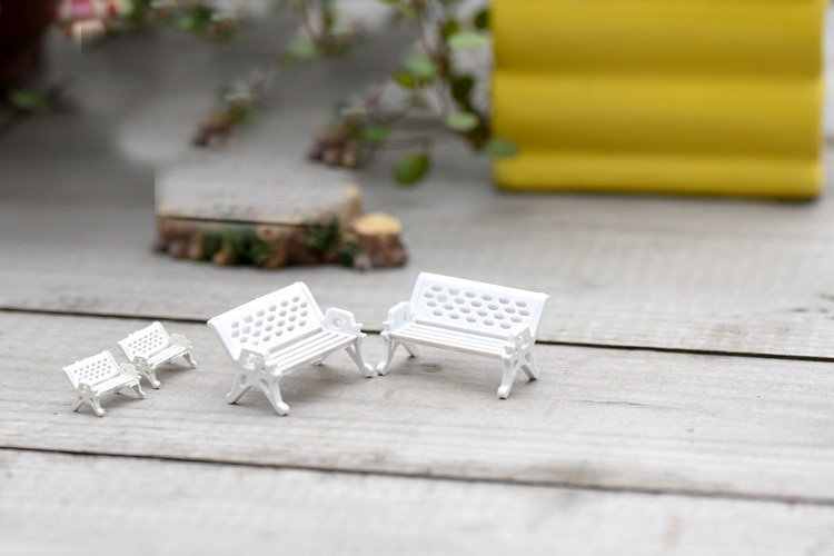 Mini Garden Decoration Chairs (10 pcs)