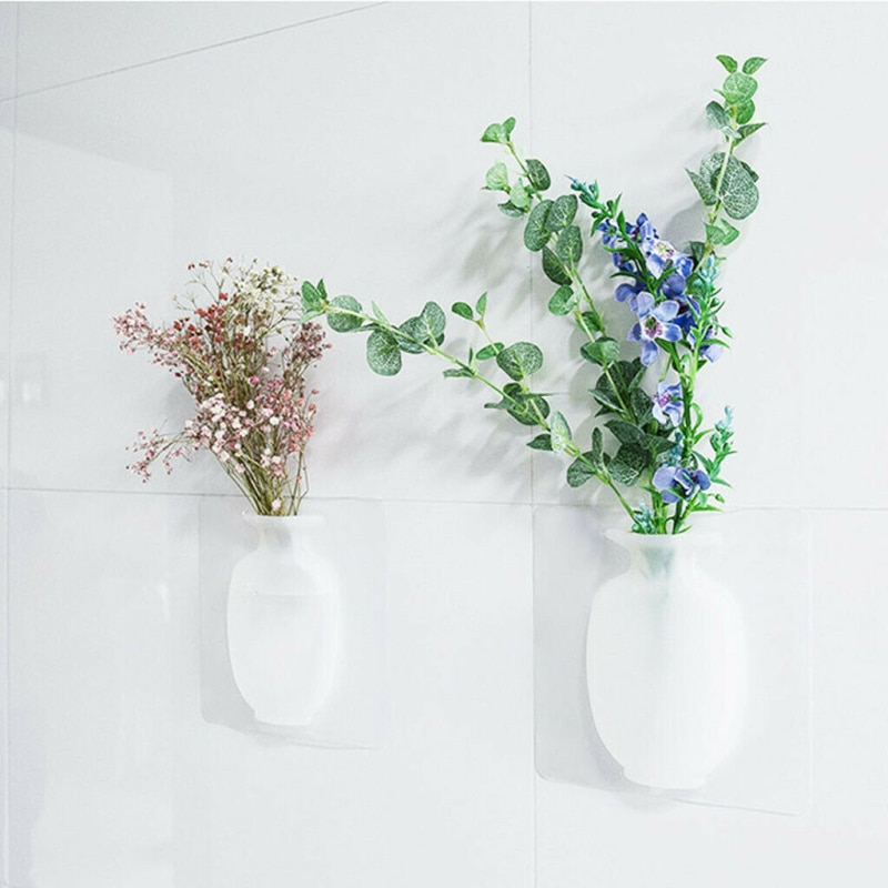 Silicone Wall Vase for Plants