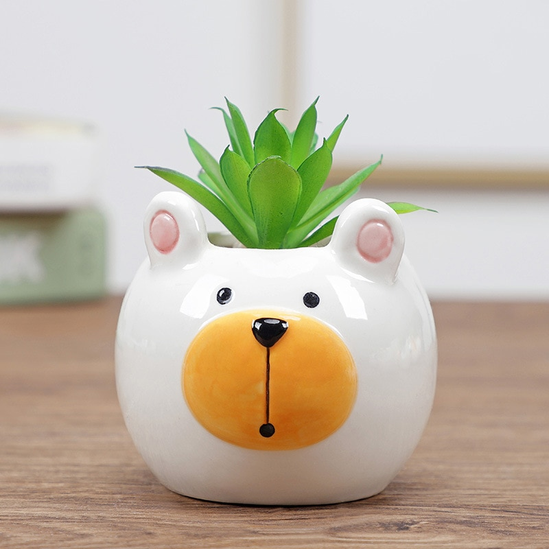 Animal Shaped Flower Pot