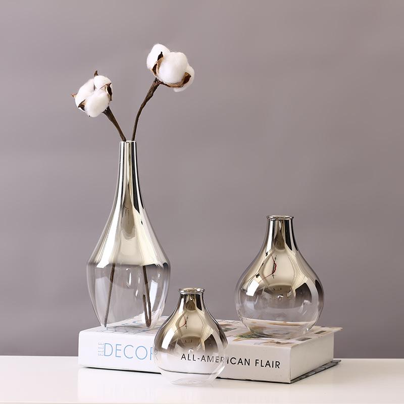 Nordic Style Glass Vase