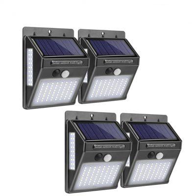 100 LED Outdoor Light Lamp Set 4 Pcs