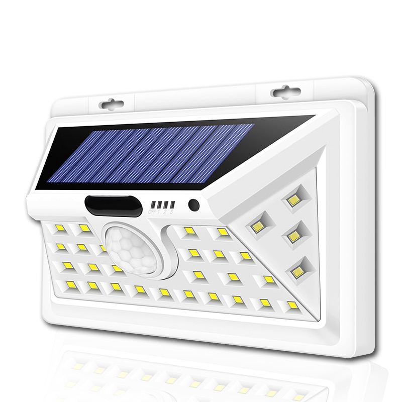 3-Side Outdoor LED Solar Lamp