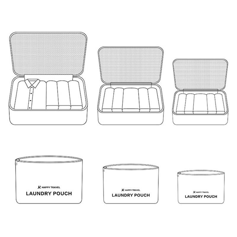 Waterproof Travel Storage Bags 6 pcs/Set