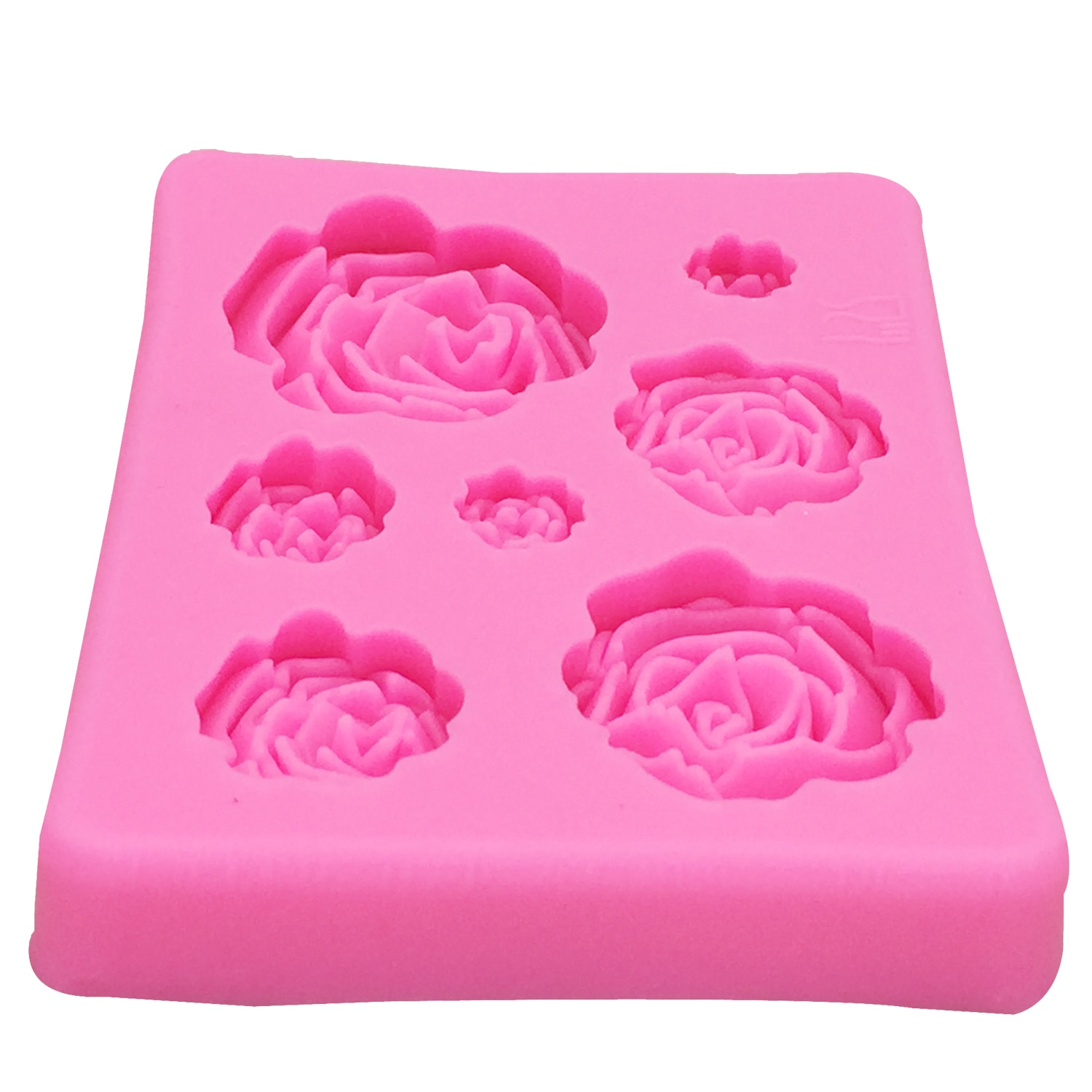 Rose Flowers Shaped Silicone Cake Mold