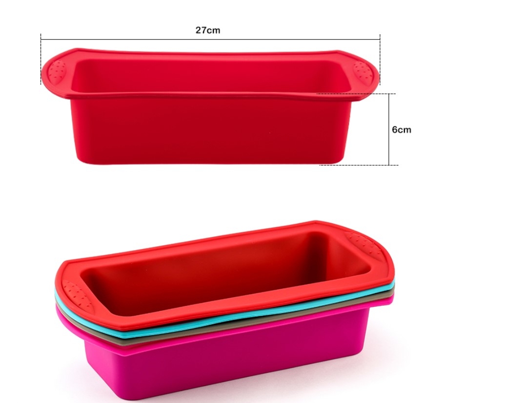 Colorful Silicone Cake Baking Mold